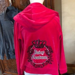 Pink velour Juicy Couture Jacket 💕💕💕